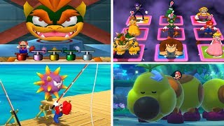 Evolution of - Mario Party Random Minigames (N64, GC, Wii, DS, Switch)
