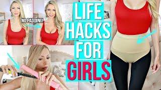 12 Life Hacks & Gadgets Every Girl Needs!