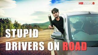 Stupid Drivers on Road   Funny     HRzero8  