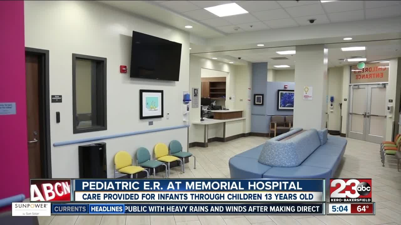 Bakersfield First Emergency Room Just For Kids Opens Today YouTube - Kids emergency room