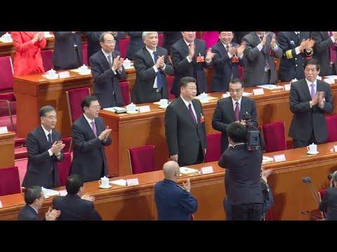 Parlamento chinês elege Xi para segundo mandato