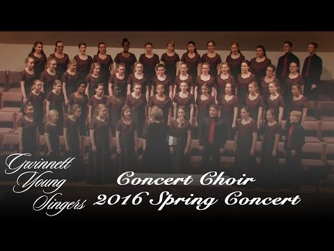 Gwinnett Young Singers - Concert Choir - We Are The Music Makers