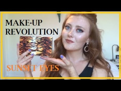 1 Brand - MakeUp Revolution Tutorial - Sunset Eyes | VEGAN | CRUELTY-FREE | LAETITIANA