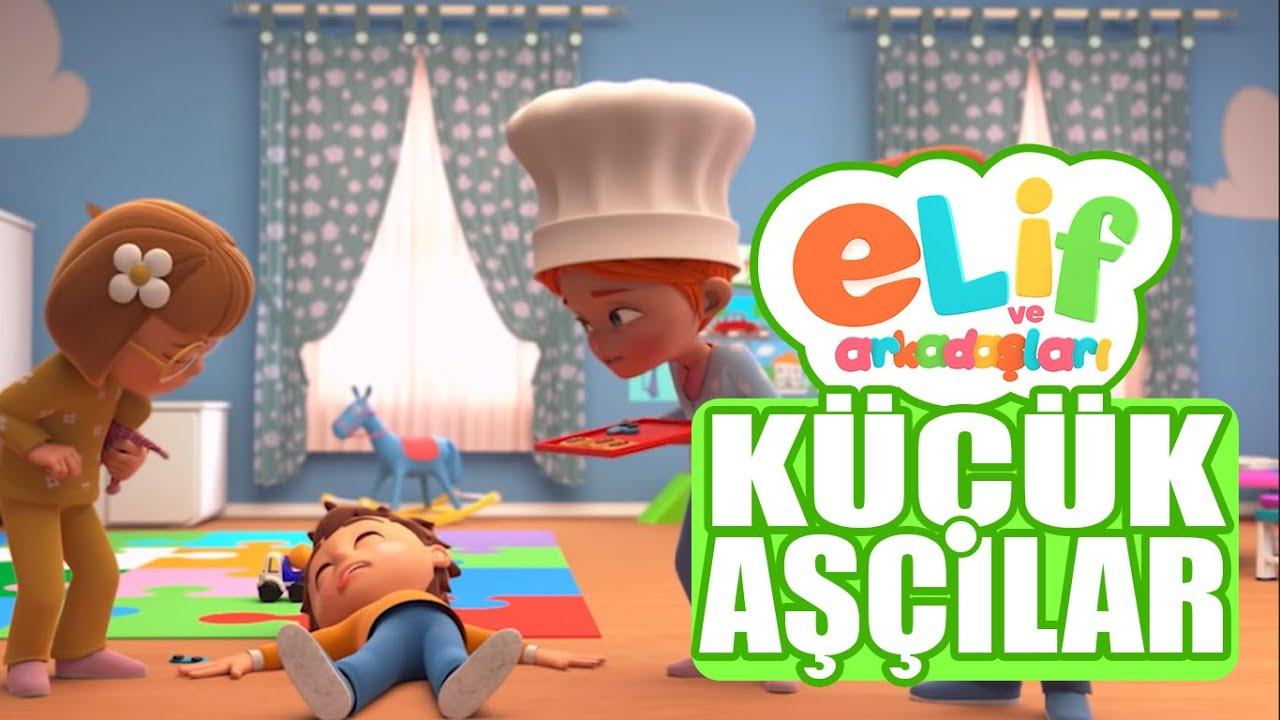 Elif ve Arkadaşları  -  Küçük Aşçılar  -  TRT Çocuk Çizgi Film