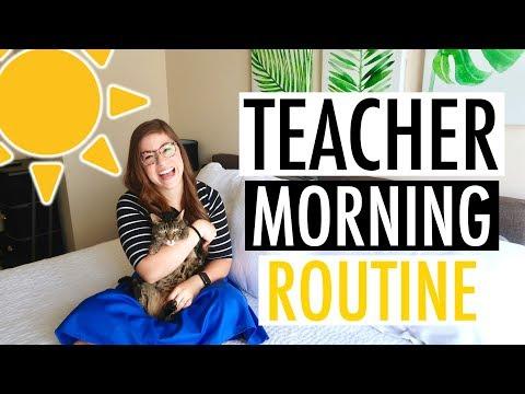 My Morning Routine as a Teacher