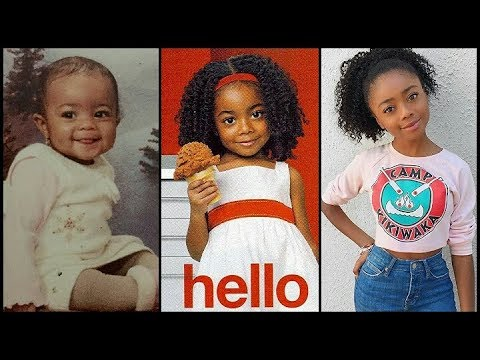 Skai Jackson From Baby To Teenager