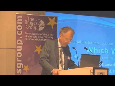 Bruges Group International 2013 - Roland Vaubel