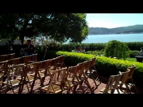 Landmarks Art & Garden Center in Tiburon California - Wedding Ceremony Location