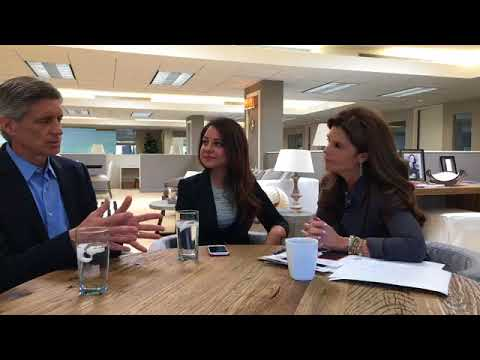 Maria Shriver, Lily Sarafan, and Dr. Frank Longo on Alzheimer's
