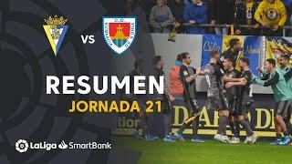 Resumen de Cádiz CF vs CD Numancia (2-4)