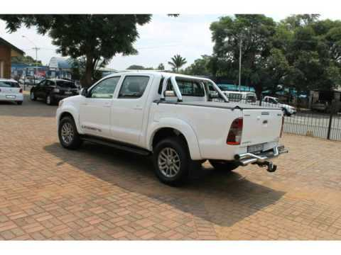 Toyota Hilux For Sale On Autotrader >> 2014 TOYOTA HILUX 3.0 D-4D LEGEND 45 4X4 A/T P/U D/C Auto For Sale On Auto Trader South Africa ...