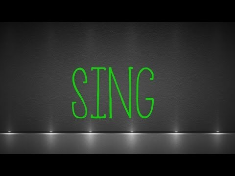 Ed Sheeran-Sing (On screen LYRICS) HD Kinetic typography No Mistakes Official Song