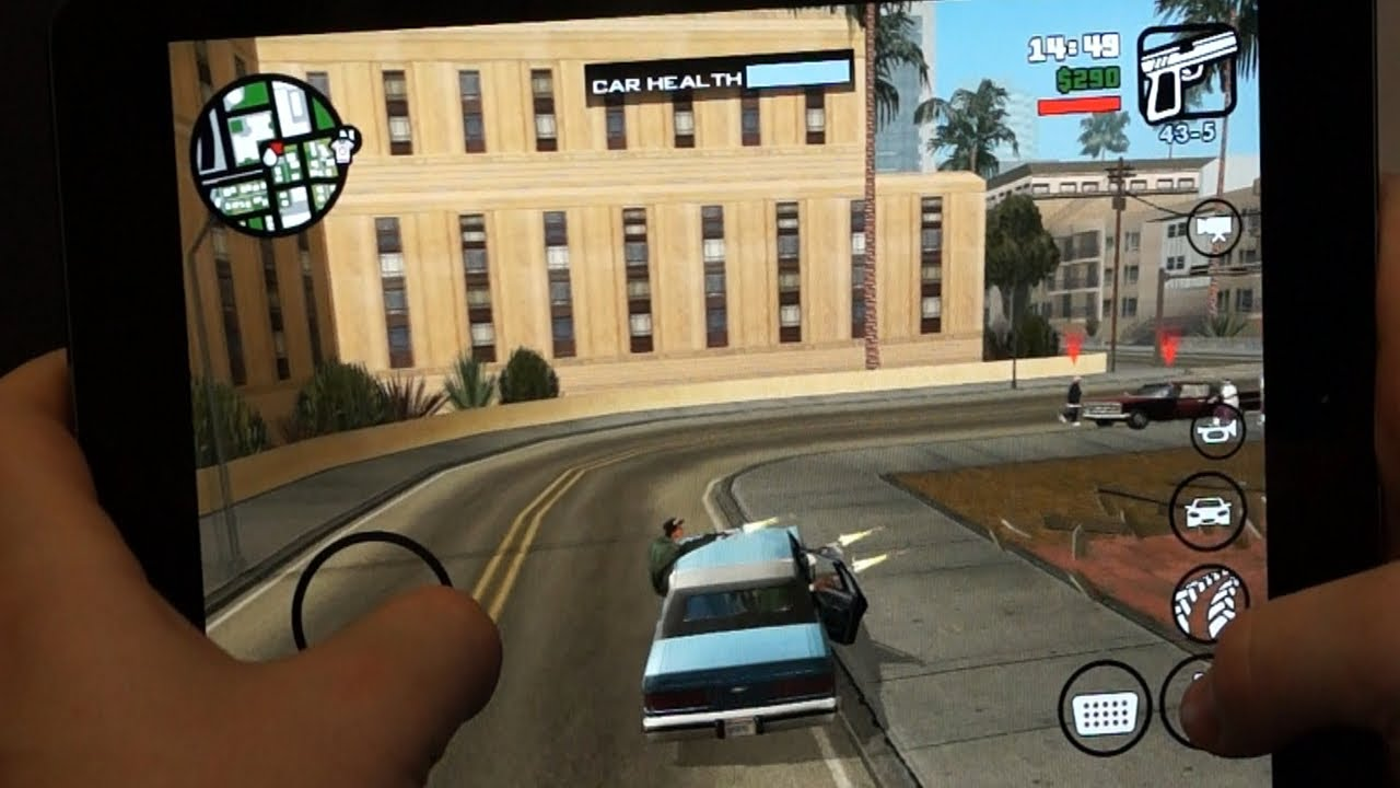 Grand Theft Auto: San Andreas App Review For iOS/Android/Windows | DansTube.TV