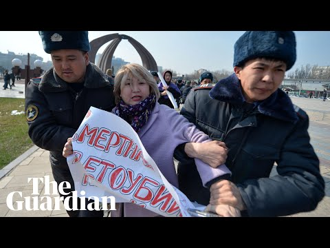 Women's Rights Activists Detained In Kyrgyzstan After Hooligans Attack IWD Rally