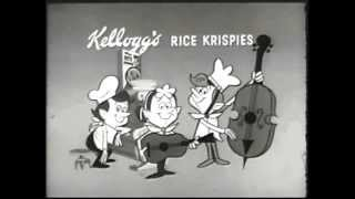 Rice Krispies Breakfast Cereal retro commercial - Snap, Crackle, and Pop