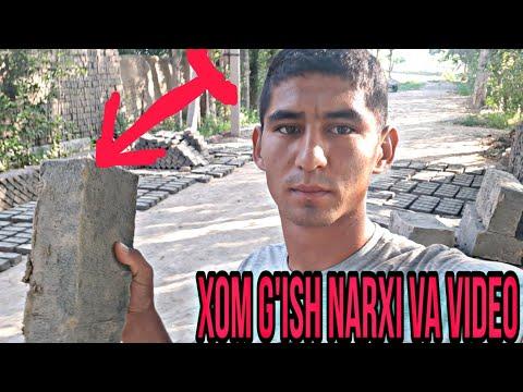 XOM G'ISHT NARXI VA QUYISH JARYONI ZO'R VIDEO 2020-YIL