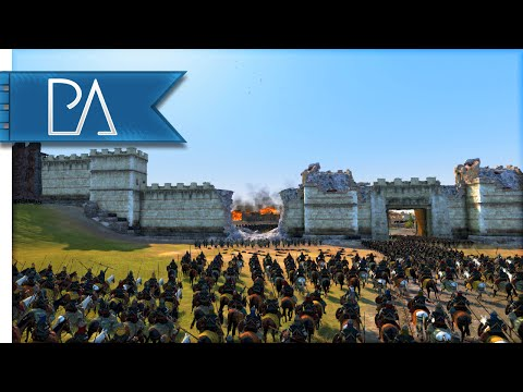 SIEGE OF CONSTANTINOPLE (1422) - Medieval Kingdoms Total War 1212AD Gameplay