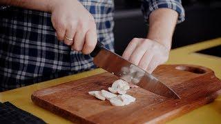 Рецепт омлета с помидорами и грибами