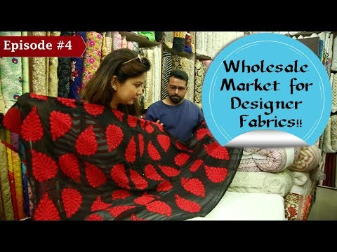 Wholesale Fabric Market in Nehru Place, Delhi | Buy Designer clothes at Cheap