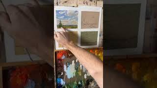 Особенности рисования пейзажа в разное время суток. Станислав Брусилов, прямой эфир.