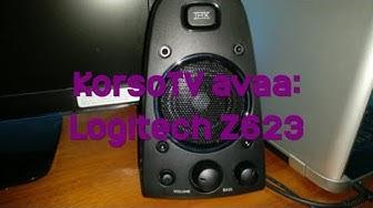 KorsoTV avaa: Logitech Z623 -kaiuttimet