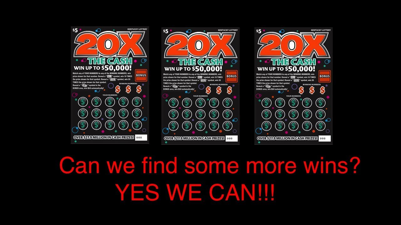 9 97 MB] More 20x The Cash!! Nice WIN!!! Kentucky Lottery