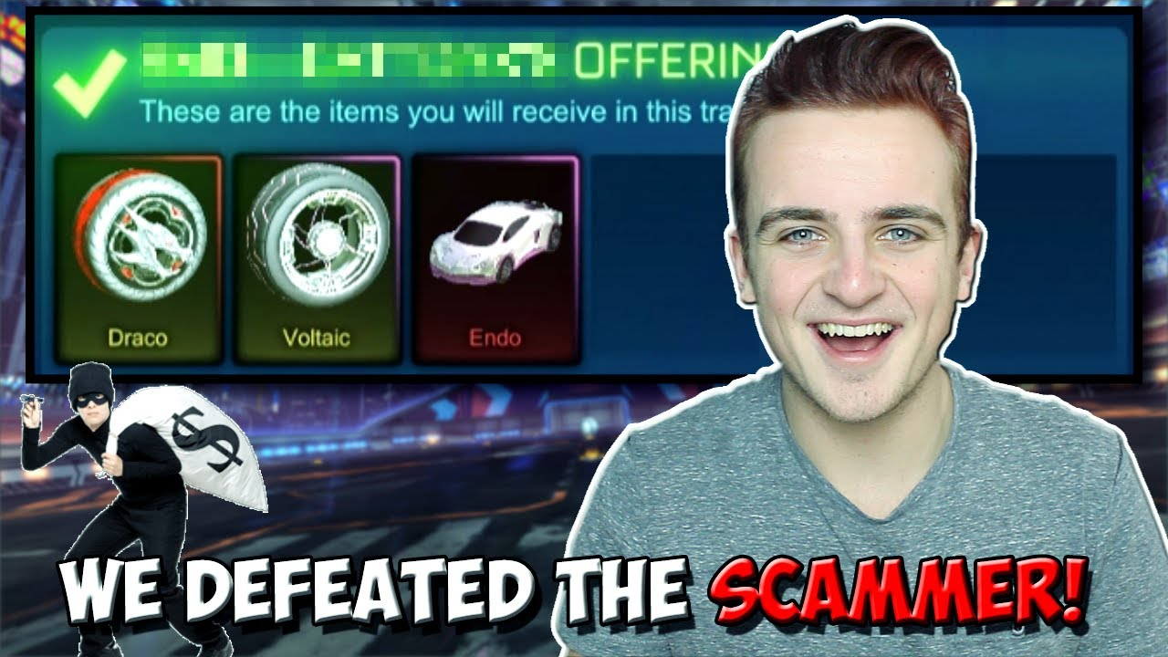 e7d300a5de4 WE EXPOSED A ROCKET LEAGUE SCAMMER AND GOT ALL OUR ITEMS BACK! | Crimson  Dracos & MORE!