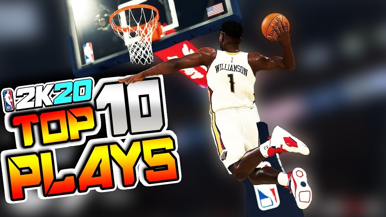 FIRST Official NBA 2K20 Top 10 PLAYS Of The WEEK #1 - Ankle Breakers, Posterizers & More