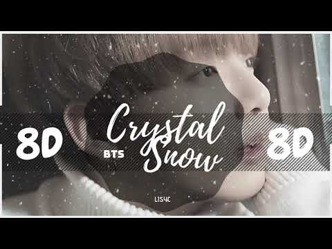 ✨ [8D AUDIO] BTS - CRYSTAL SNOW ❄️  [USE HEADPHONES 🎧] |  방탄소년단 | 防弾少年団 | 8D