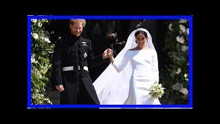 Измученная Меган Маркл упала на лестнице после свадьбы | TVRu