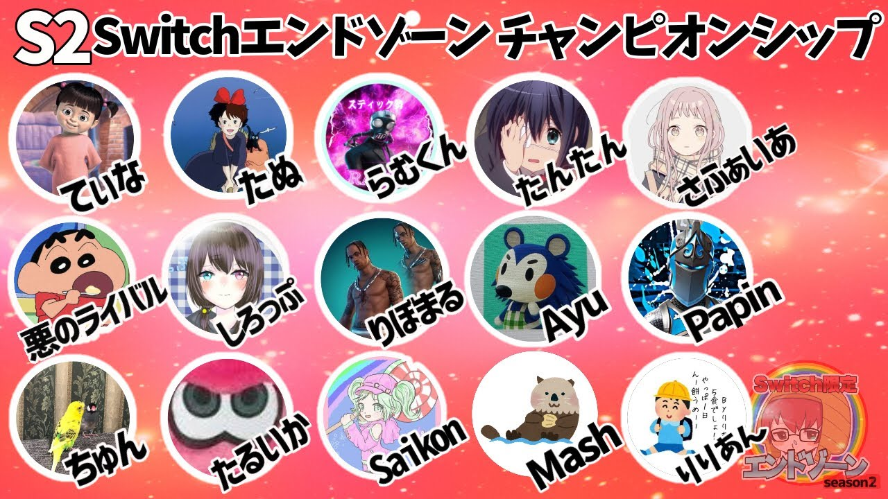 【フォートナイト】Switch限定!No.1エンドゾーン決勝戦!【Fortnite】【Milcdom同時配信】