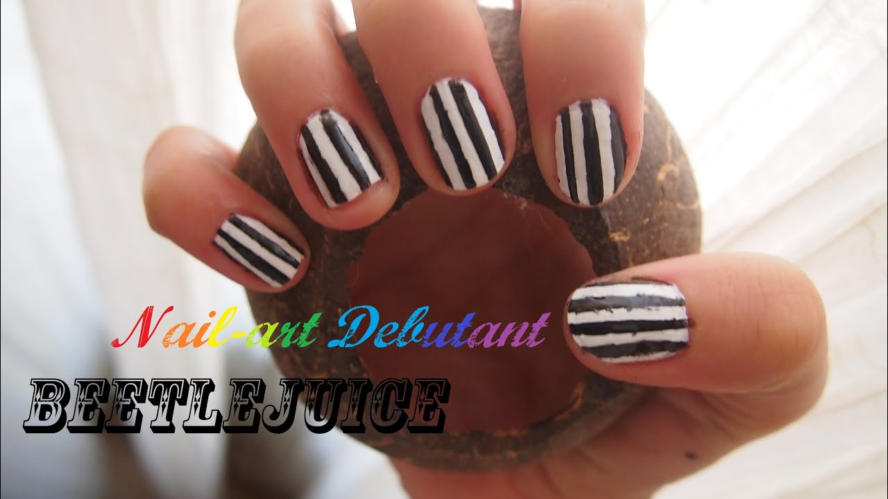 Nail-art Halloween spécial ongles courts - Halloween nail ...
