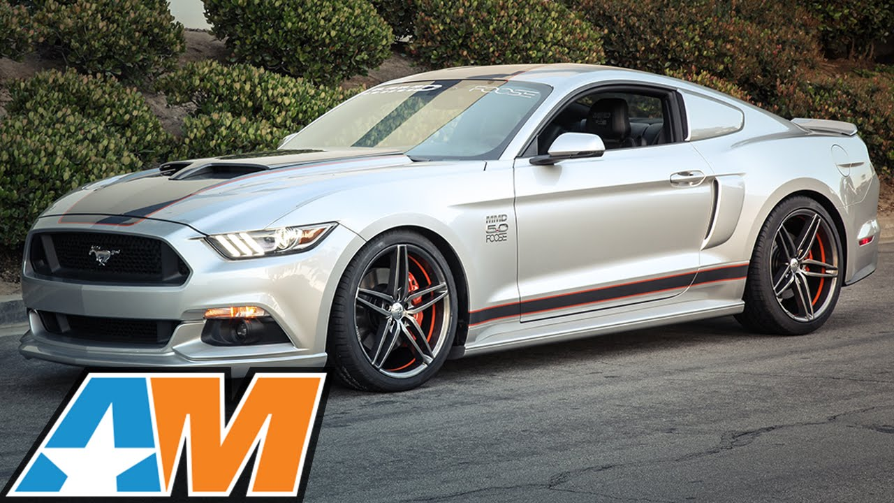 Mmd By Foose 2017 Mustang Gt Gets Supercharged