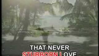 STUBBORN LOVE Videoke by Kathy Trocolli