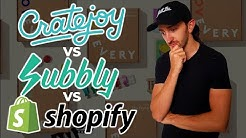 Cratejoy vs Subbly vs Shopify