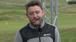 Conor Moore's Best Golfer Impressions at The 148th Open | Golf Channel