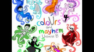Homestuck Squiddle Song coloUrs and mayhem - Universe B (reversed)