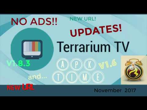 Working! Terrarium Tv AD FREE! - INSTALL APK Time - New Menu- LATEST | Voice Search