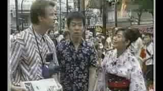 Television interview and performance at the 58th Annual Tanabata Fe...