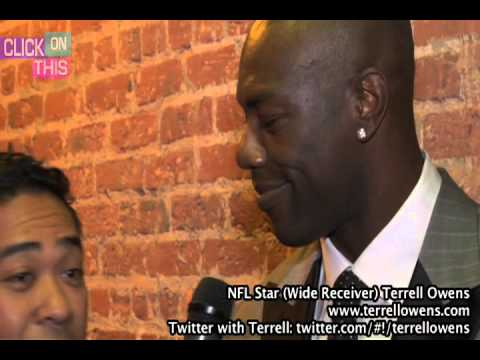 Terrell Owens Interview during the Baltimore Grand Prix Weekend