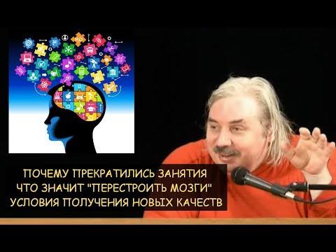 """Н.Левашов: Как """"перестроить мозг"""" человеку. Условия получения новых качеств"""