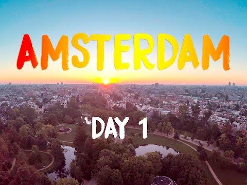 AMSTERDAM VLOG: DAY ONE