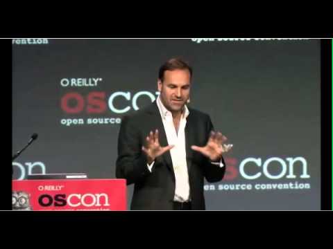 Mark Shuttleworth presents Ubuntu Web Apps at OSCON 2012