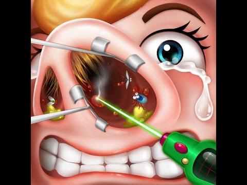 онлайн игры/операция носа/nose Surgery/игры для андроид