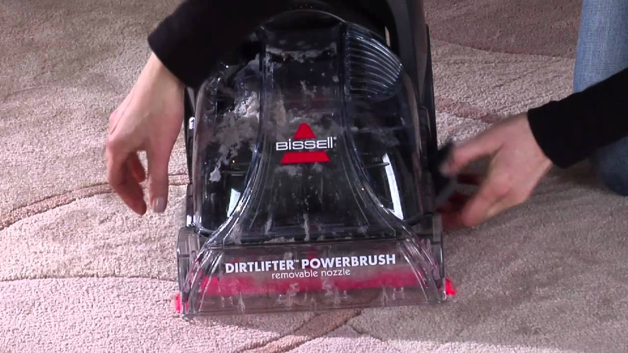 Bissell Quickwash Power Brush Youtube