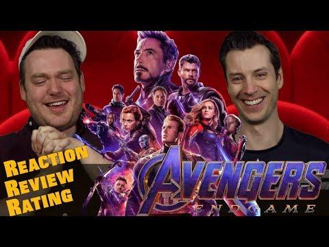 9d769aa42d1 Avengers Endgame - Trailer 2 Reaction Review rating - YouTube