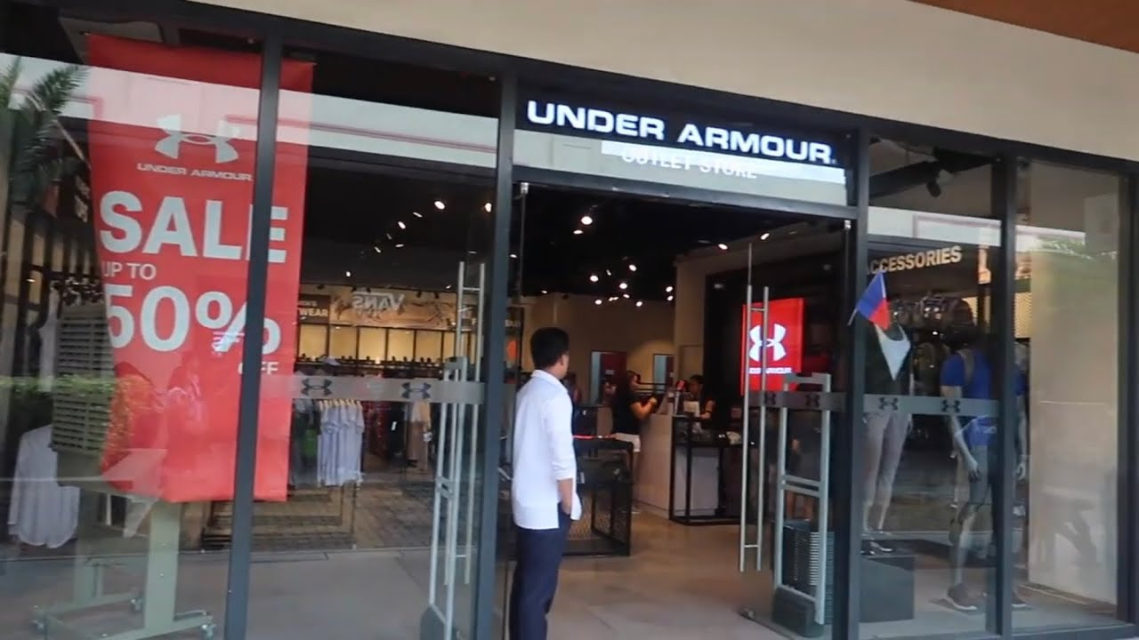 the under armour outlet