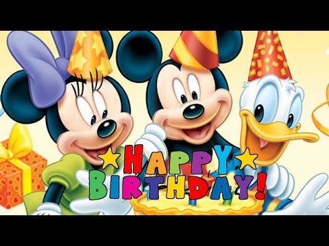 Mickey Mouse Clubhouse Disney Junior Happy Birthday