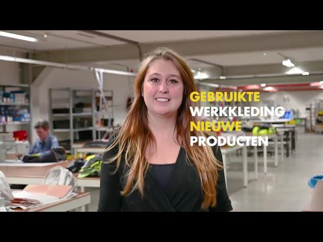 Afgekeurde werkkleding niet weggooien, maar gebruiken!  - Textiel Services Rijnmond