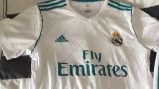 Edmondsoccershop.com - Real Madrid Kit 17/18 - Jersey Review